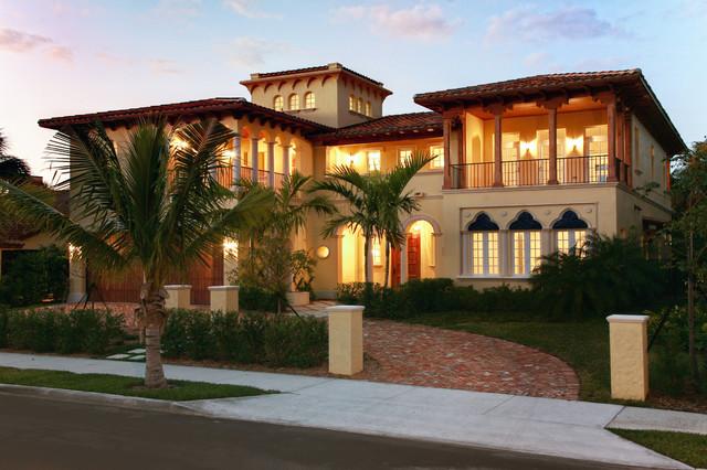 mediterranean villa mediterranean exterior miami by rar architect inc. Black Bedroom Furniture Sets. Home Design Ideas