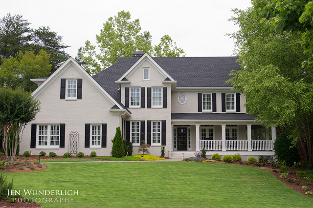 Inspiration For A Timeless Exterior Home Remodel In Atlanta