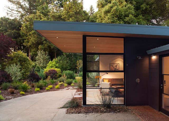 Menlo Oaks 2 contemporary-exterior