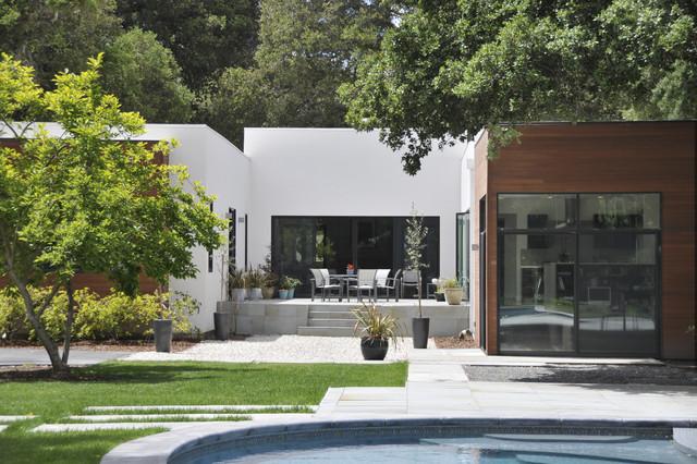Menlo Oaks Residence contemporary-exterior