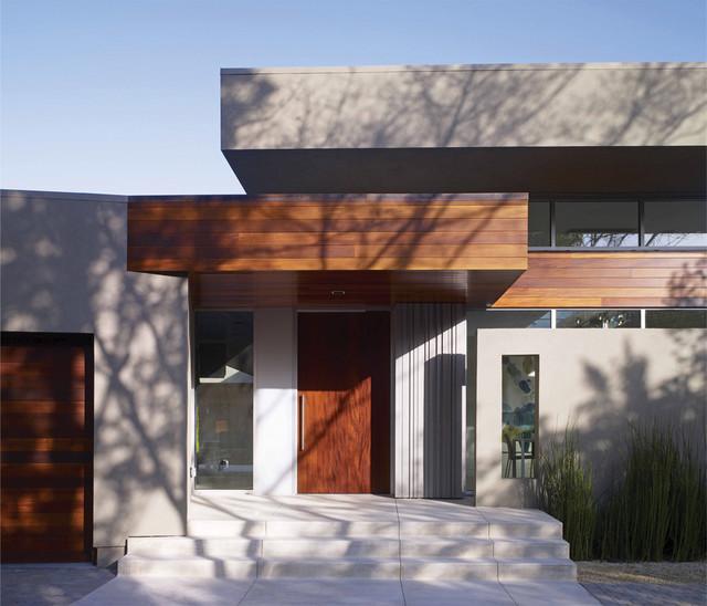 Menlo Park Entry modern-exterior