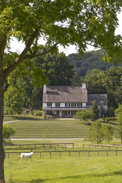 Mercer Hill Farm - view across the farm farmhouse-exterior