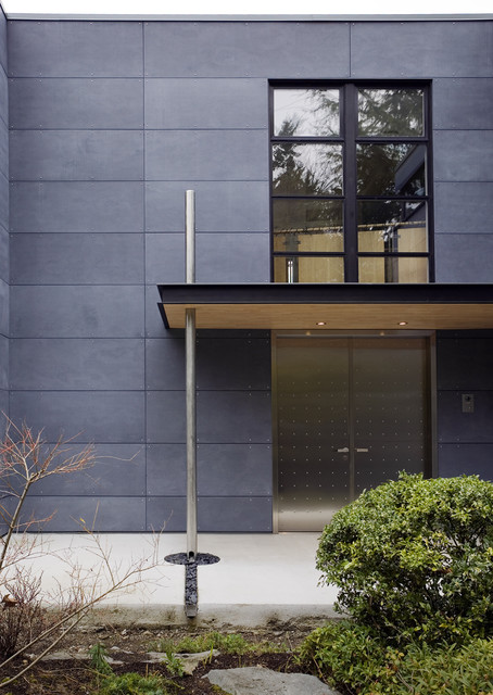 Mercer Island Entry contemporary exterior