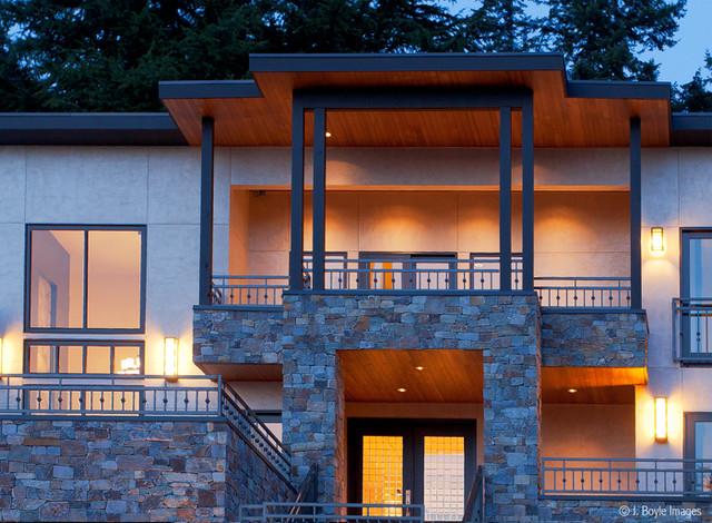 Mercer Island contemporary-exterior