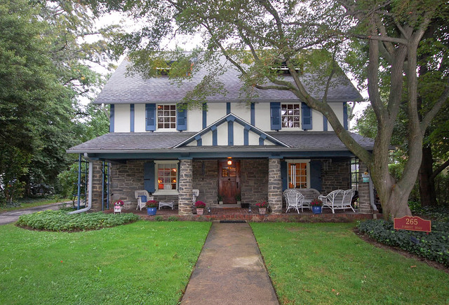 Merion Station Home eclectic-exterior