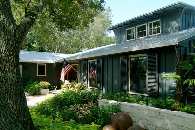 Merritt island florida cottage revival minimalistisch häuser