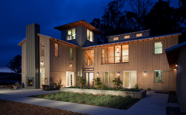 Mesa View Residence contemporary-exterior