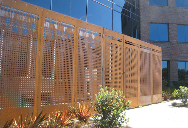 Metal Panel Contemporary Exterior