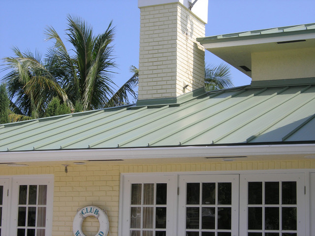 Metal Roof Contemporary Exterior Miami By Allied
