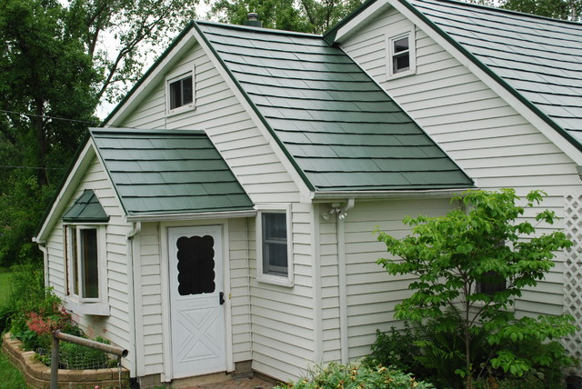 Metal roof styles traditional exterior detroit by for Tin roof styles