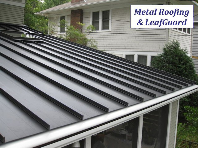 Metal Roofing Contemporary Exterior
