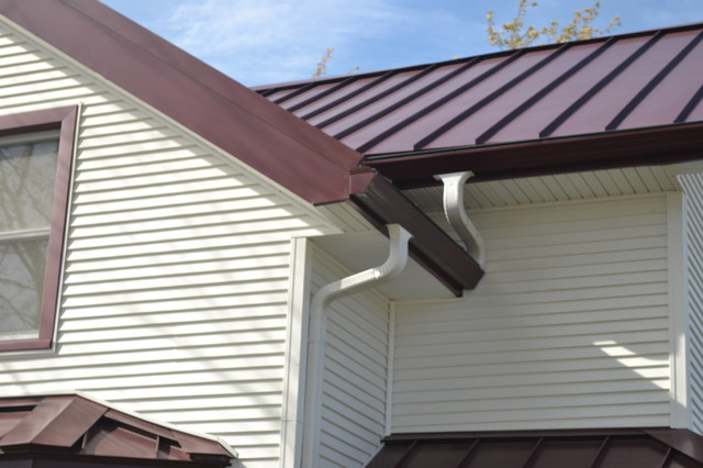 Metal Roofing, Rain Screen and Siding Replacement   Lodi, WI traditional-exterior