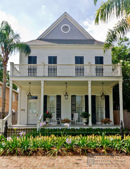 Mettz Residence - New Orleans traditional-exterior