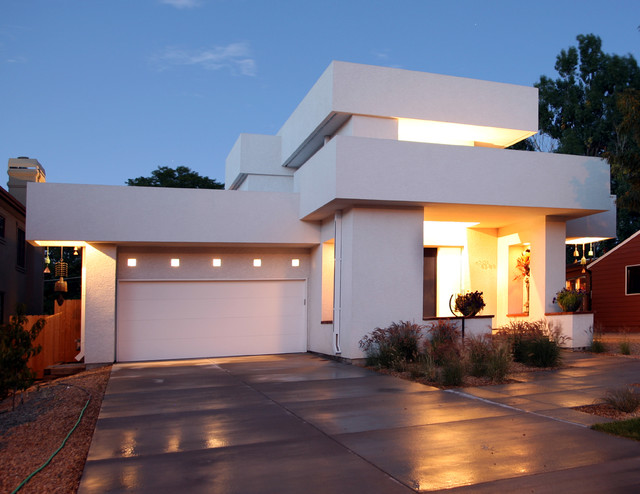 Michael knorr contemporary exterior denver by Contemporary flat roof designs