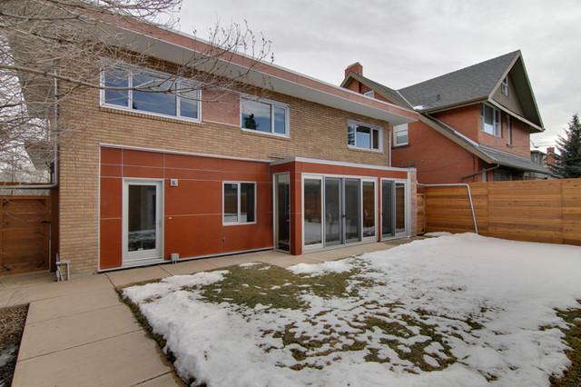 mid century elbow park residence renovation exterior modern exterior