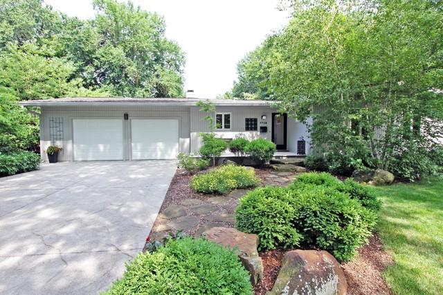 Mid Century Home modern-exterior