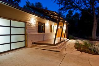 mid century modern midcentury exterior denver by blue stone woodworks. Black Bedroom Furniture Sets. Home Design Ideas