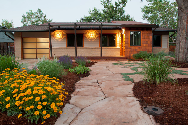 Mid Century Modern Traditional Exterior Denver By