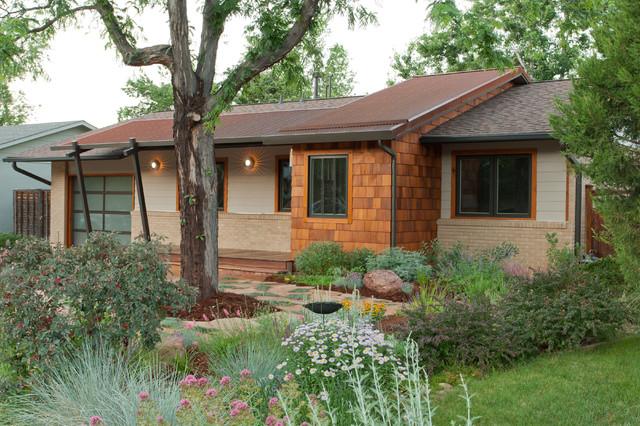 Mid Century Modern Midcentury Exterior Denver By Blue Stone Woodworks