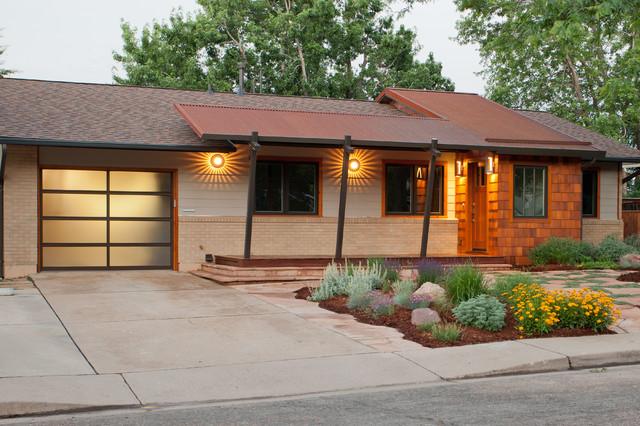 Mid century modern midcentury exterior denver by for Mid century modern homes denver