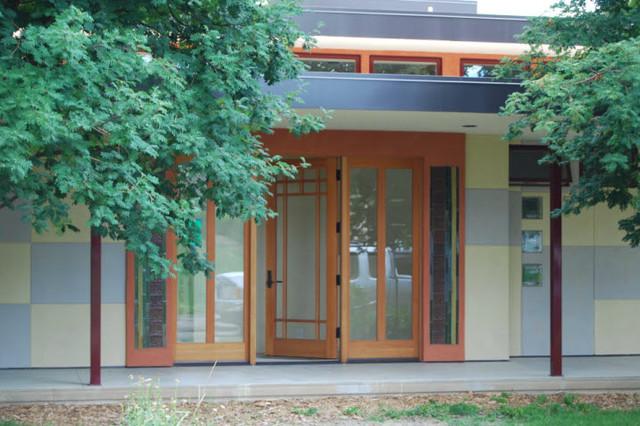 mid century modern remodel modern exterior