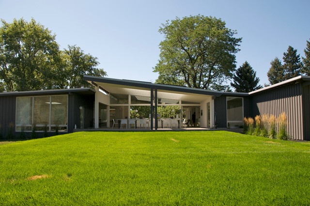 Mid century modern midcentury exterior other metro by nest architectural design inc - Mid century modern homes ...