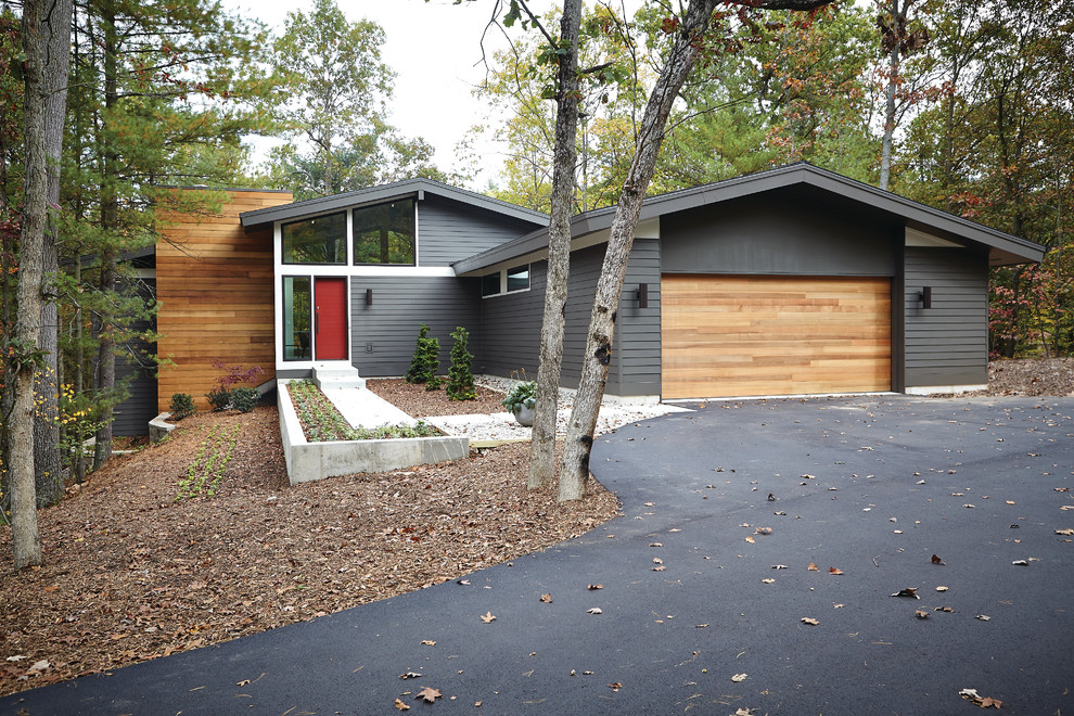 1950s wood gable roof idea in Grand Rapids