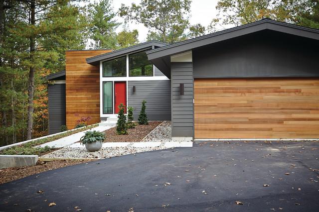 Mid-Century Modern - Midcentury - Exterior - Grand Rapids ...
