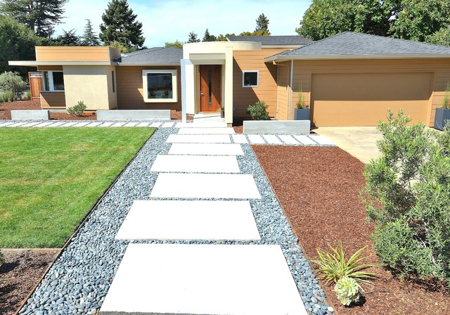 Mid-Century Modern on a Budget - Midcentury - Exterior - san francisco - by Rich Mathers ...