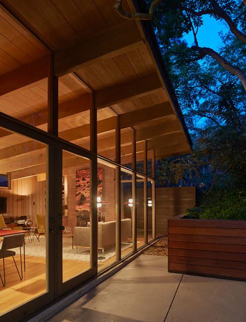 mid century modern renovation addition midcentury exterior san