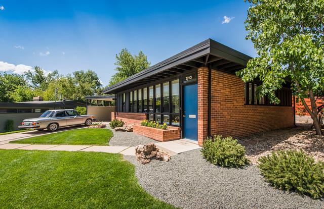 mid century modern renovation midcentury exterior by kimberly