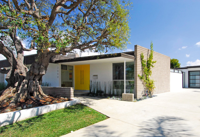 Mid century modern revitalized midcentury exterior other by brion jeannette architecture - Mid century modern home exterior ...
