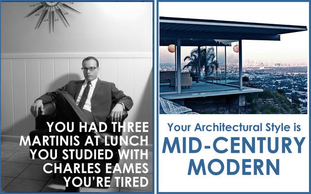 Mid Century Modern Style exterior