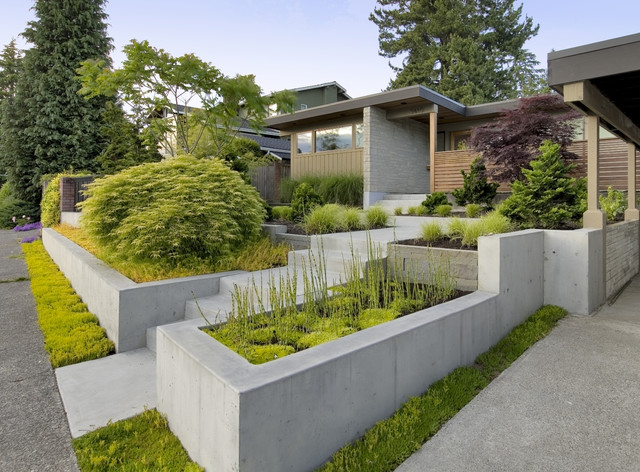 Mid Century Re Modern Contemporary Exterior Seattle