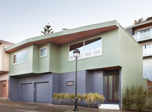 Mid-Century Remodel modern-exterior