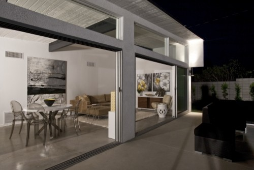 Mid-Century Remodel- Palm Springs modern-exterior