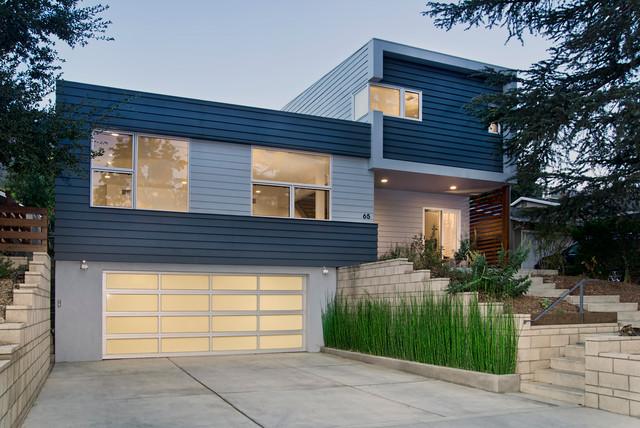 Mid century update contemporary exterior for Updating 80s contemporary home exterior