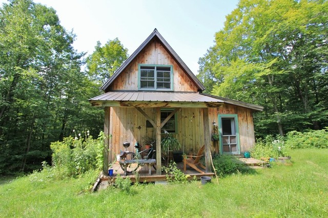 Middletown Springs, Post and Beam Barn Home - Rustic