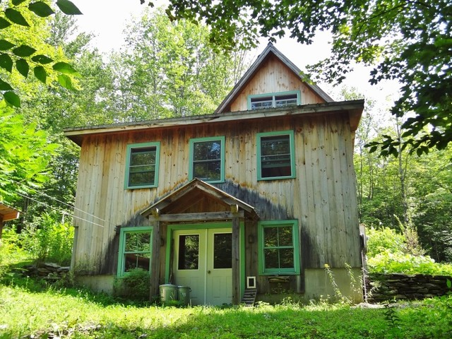 Middletown Springs, Post and Beam Barn Home - Rustic - Exterior