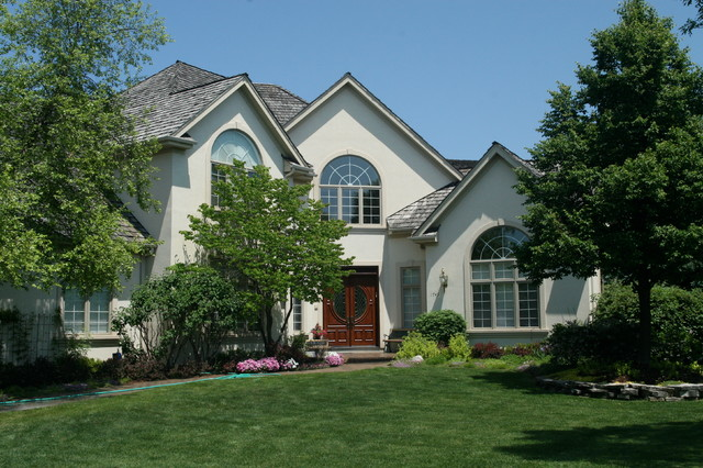 Midwest New Homes traditional-exterior