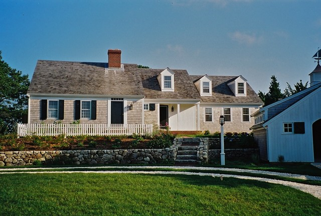 Mill Pond House traditional exterior