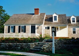 Mill Pond House traditional-exterior