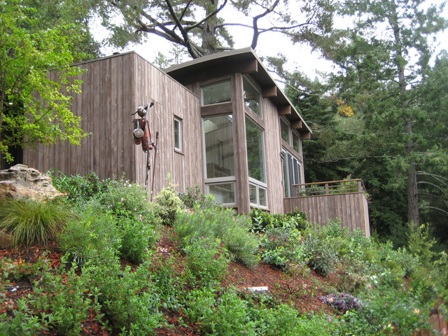 Mill valley cabins modern exterior san francisco for Mill valley cabins
