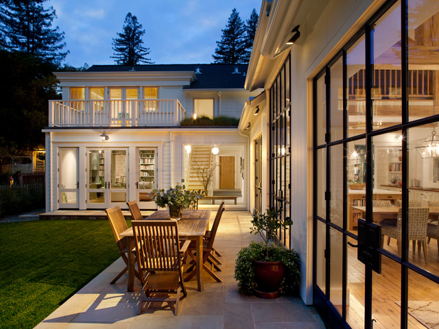 Mill valley farmhouse exterior san francisco by for Mill valley architects