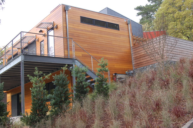 Mill valley modern garden modern exterior san for Mill valley architects