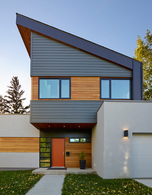 millcreek house contemporary exterior edmonton by effect home
