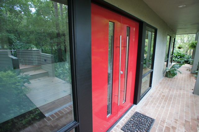 Miller Entry Doors - Modern - Exterior - Houston - by Built Incorporated