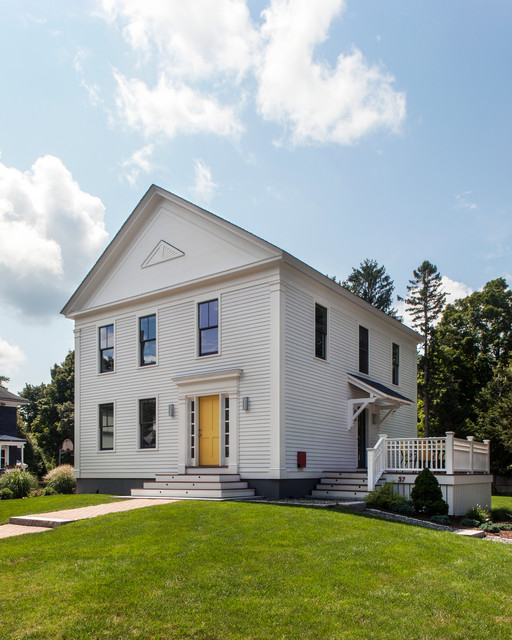 Miller 39 s meadow farm rustic exterior boston by lda for Miller exterior paint