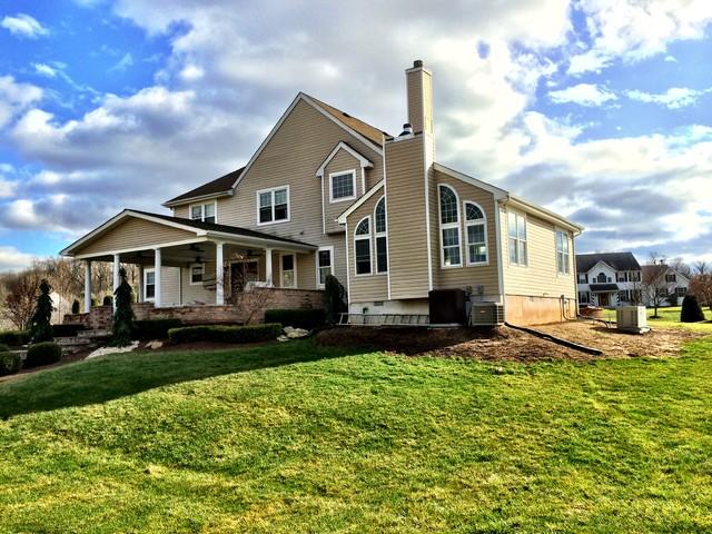 Millstone addition for Haus rustikal modern
