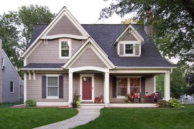 Minneapolis Cape Cod Renovation - Traditional - Exterior ...